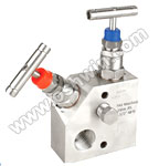 SS304/ 316L 2 Way Manifold Valves,R2,Type 6