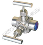 SS304/ 316L 2 Way Manifold Valves,T2,Type 9 Direct Mounting