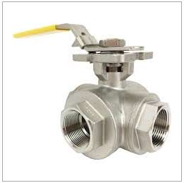 3 Way Stainless Ball Valve