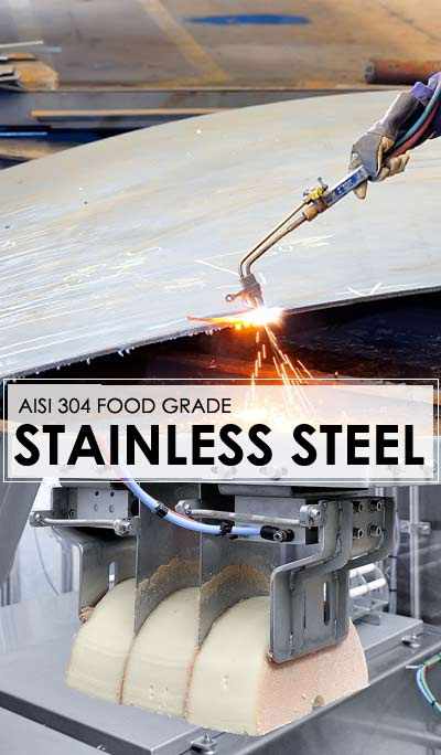 304 Food Grade Stainless Steel