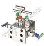 SS304/ 316L 5 Way Manifold Valves,H5,Type 6 Direct Mounting