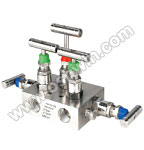 SS304/ 316L 5 Way Manifold Valves,R5,Type 1