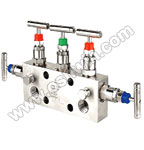 SS304/ 316L 5 Way Manifold Valves,R5,Type 2 Direct Mounting