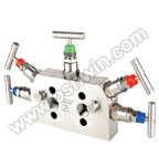 SS304/ 316L 5 Way Manifold Valves,R5,Type 3 Direct Mounting