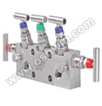 SS304/ 316L 5 Way Manifold Valves,R5,Type 4 Coplanar Mounting