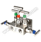 SS304/ 316L 5 Way Manifold Valves,T5,Type 5 Direct Mounting