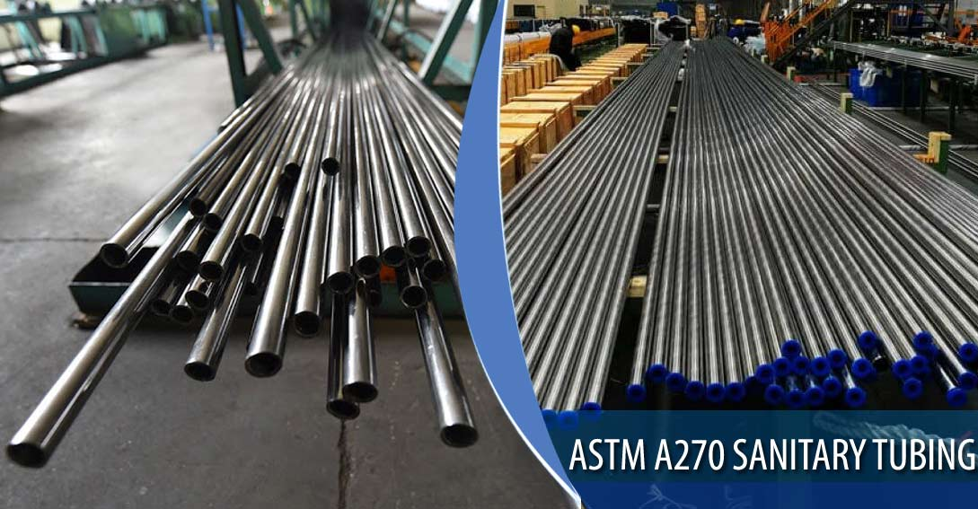 ASTM A270 Sanitary Tubing