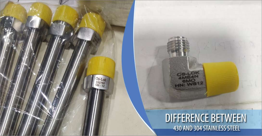 Difference between 430 and 304 Stainless Steel