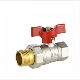 BSI Gas Approved Male / Female Brass Ball Valve