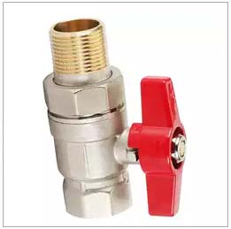 EN331 Gas Approved Compression End Brass Ball Valve