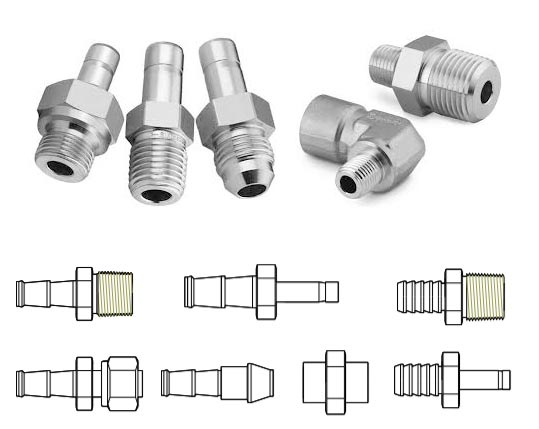 Incoloy 800 Din 1.4876 Hose Fitting