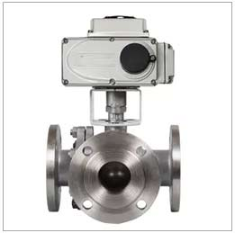 DN80 3 inch  CF8M Stainless Steel 3 Way L Port Valve