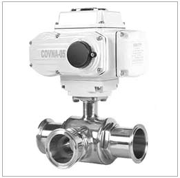 DN15 1/2 inch Sanitary Stainless Steel 3 Way L Port Ball Valve
