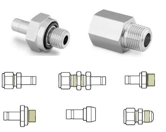 ASTM A276 UNS N08904 Stainless Steel Port Connector