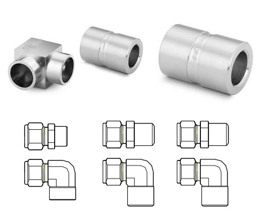 AISI 904L Stainless Steel Weld Fitting