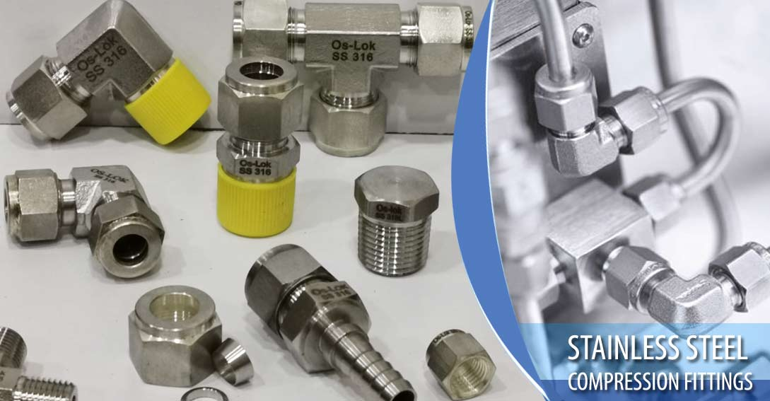 Stainless Steel Compression Fittings manufacturers in India