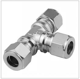 Stainless steel reducing tube fitting